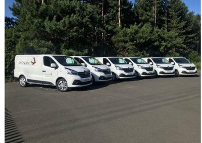 Six New Vans For Our Busy Installer Fleet