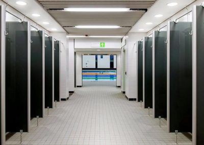 Cabrillant Wet Area Unframed Cubicles